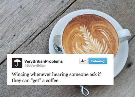 A real British problem…