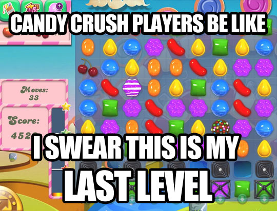 Candy Crush players…