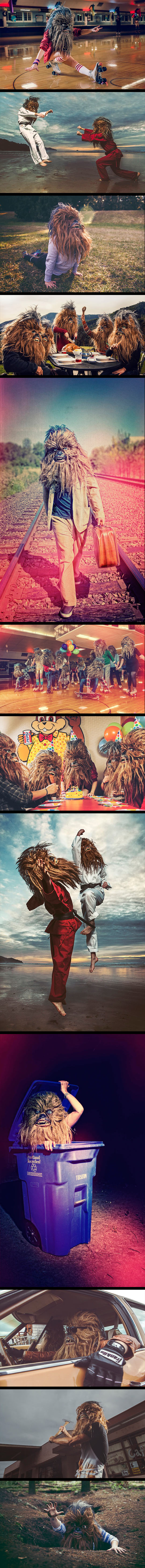The everyday life of Wookiees…
