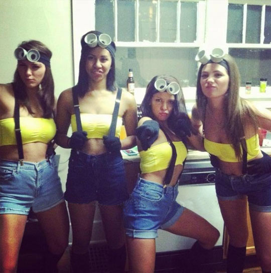 Despicable Me Halloween costume…