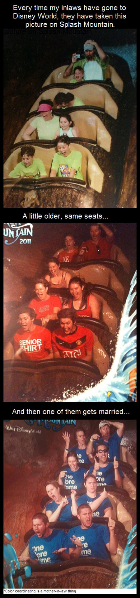 What my In-laws do at Disney…
