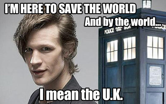 The truth about Doctor Who…