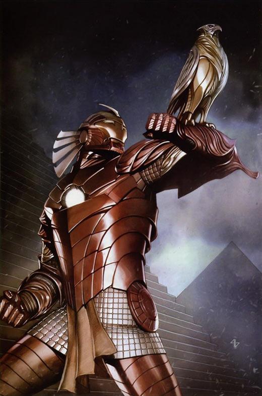 Epic Egyptian Iron Man…