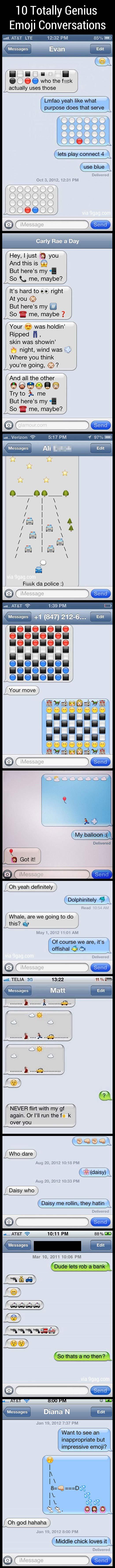 Best Emoji Conversations…