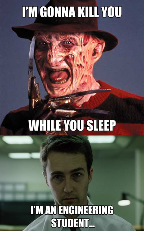 funny-Freddy-engineering-student