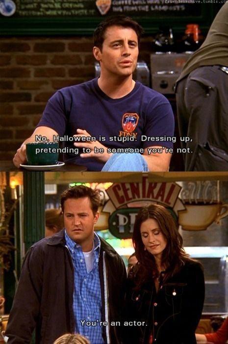 funny-Friends-Halloween-pretending-Joey