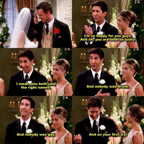 funny-Friends-married-Chandler-Ross-sad