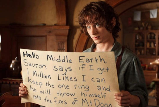 Hello Middle Earth…