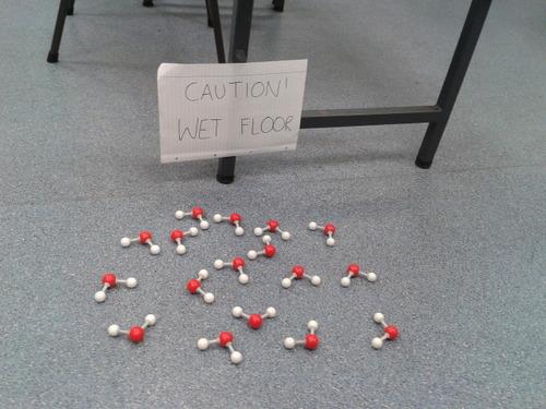 Caution, Wet Floor…