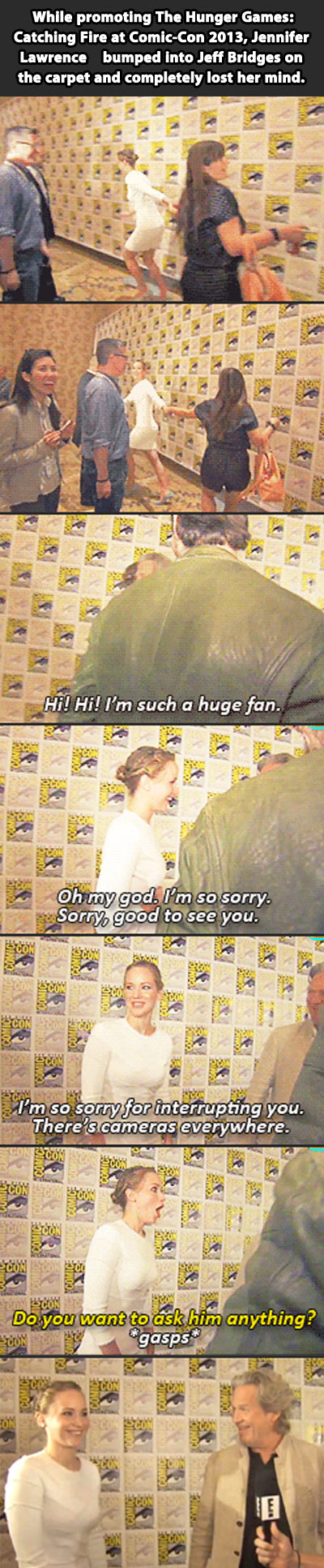 funny-Jennifer-Lawrence-meeting-Jeff-Bridges-Comic-Con