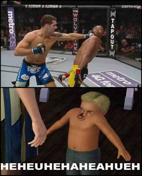 Anderson Silva goes full derp…