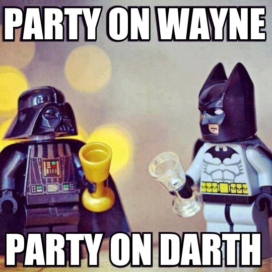 funny-LEGO-Batman-Darth-Vader-Star-Wars-party