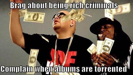 funny-Lil-Wayne-rich-criminals-complain-torrented