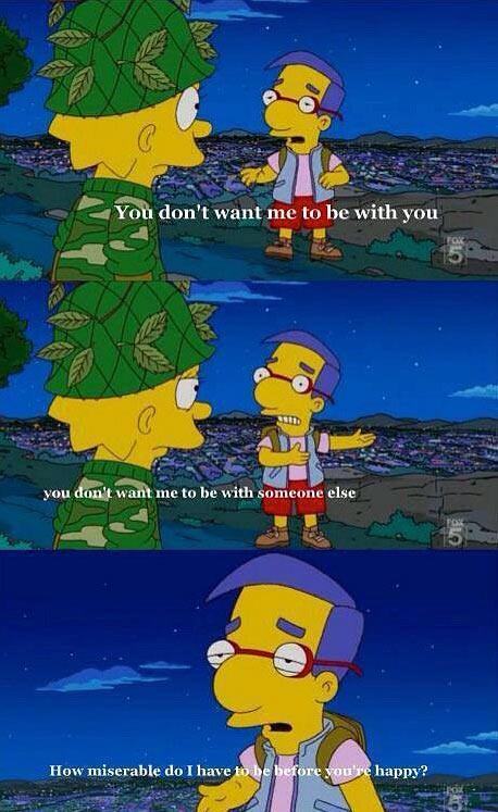 funny-Lisa-Milhouse-love-argue