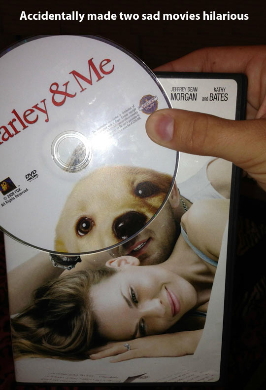 Two sad movies make a better one…