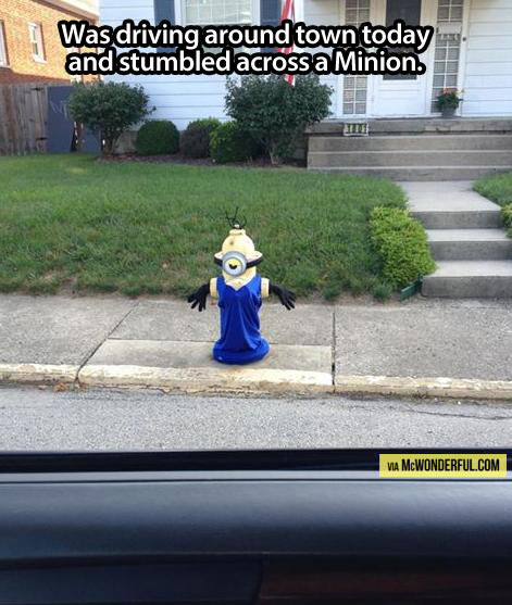 Minions are taking the streets…