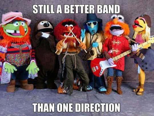 Still a better band…