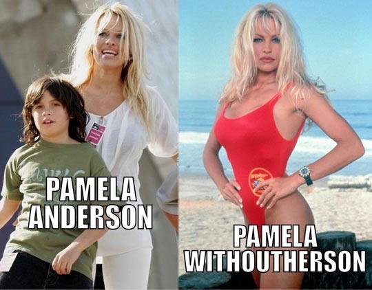 Pamela Anderson…
