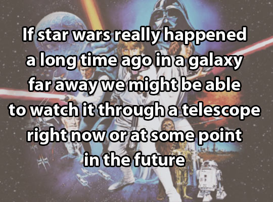 If Star Wars really happened…