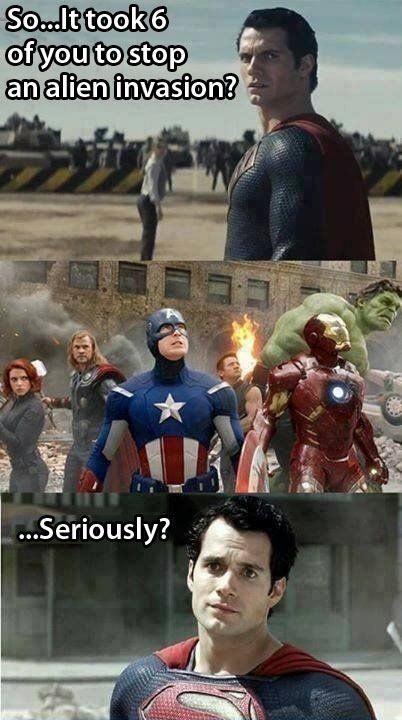 funny-Superman-Avengers-alien-invasion