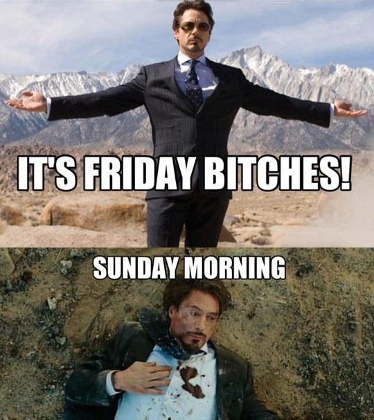 Every single weekend…