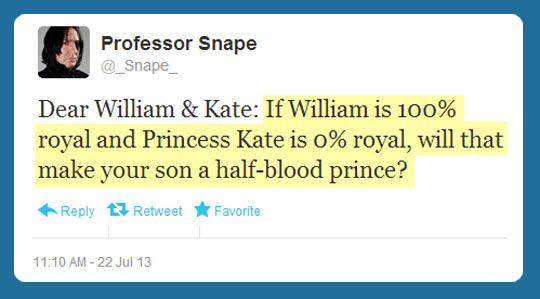 You nailed it, Professor Snape…