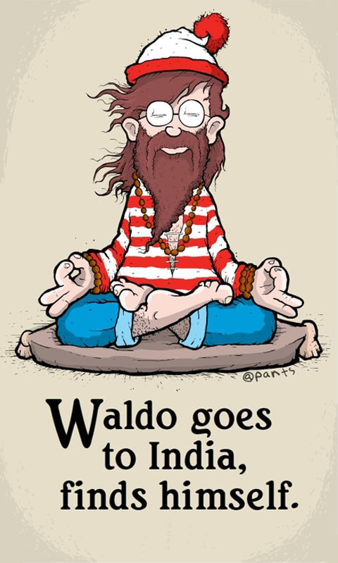 Waldo goes to India…