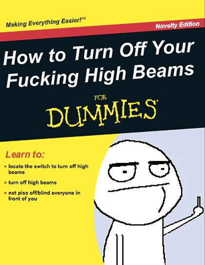 funny-book-Dummies-High-Beams