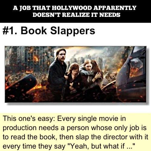Book slappers…