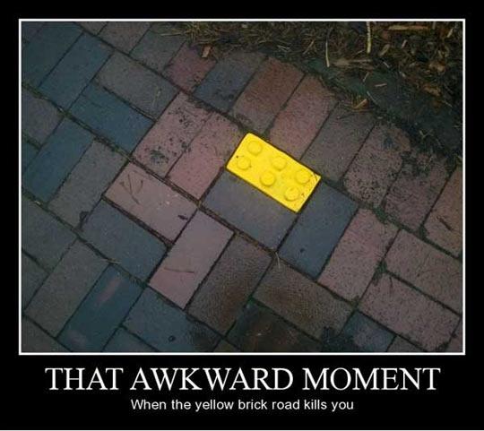 funny-brick-road-yellow-street-awkward