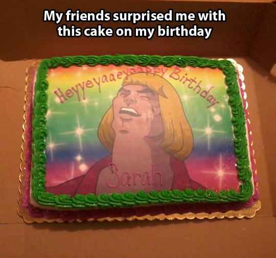 HeeMan cake