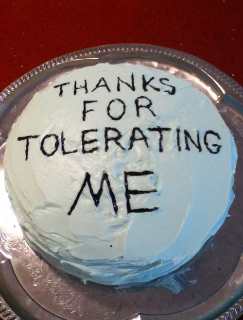 funny-cake-tolerate-message