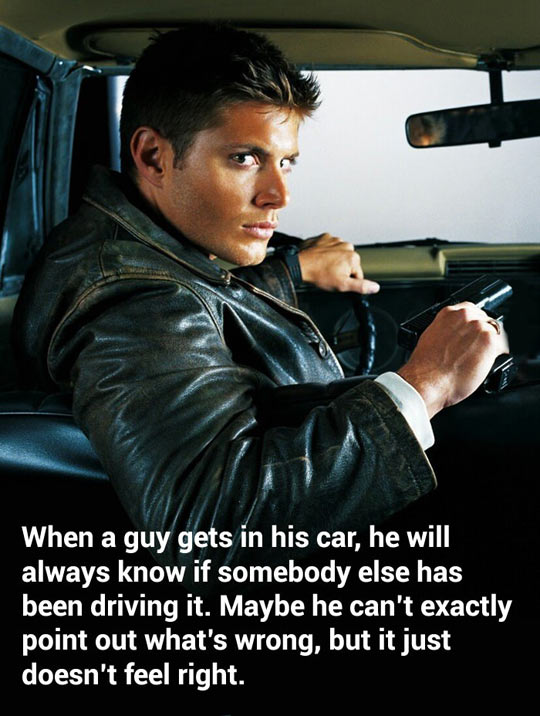 He will always know…