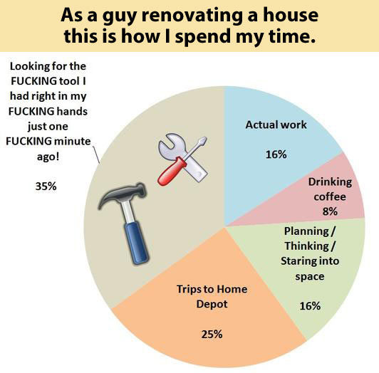 As a guy renovating a house…