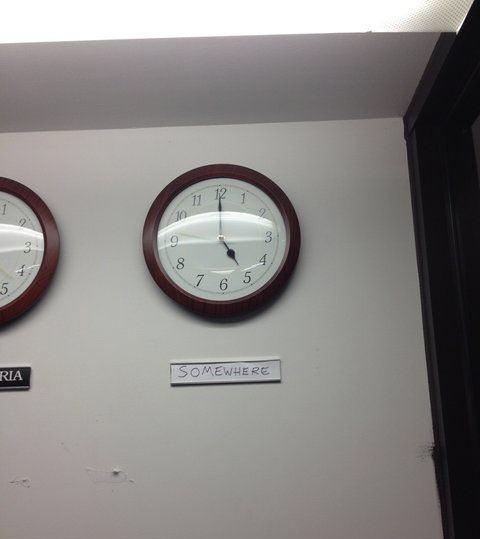 It's got to be 5 o'clock somewhere…
