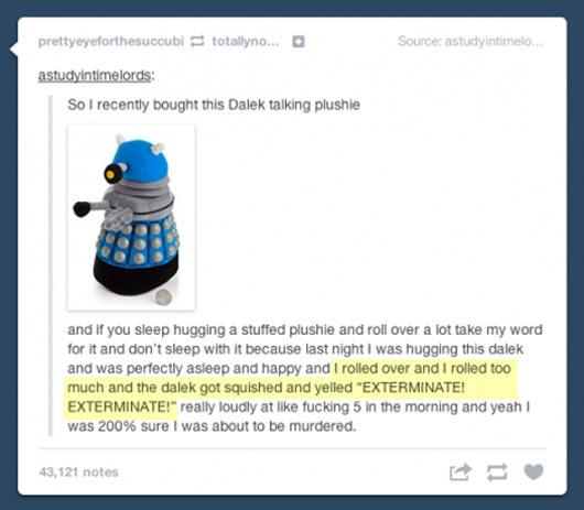 Talking Dalek…