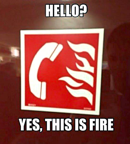 funny-fire-sign-telephone