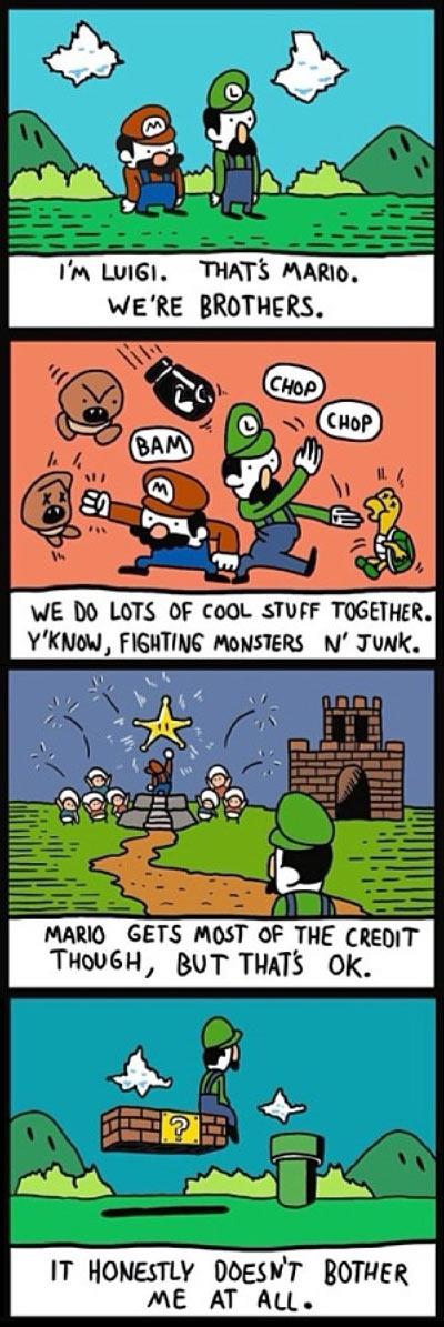 Good Guy Luigi…