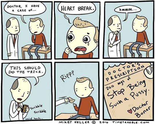 A case of heart break…