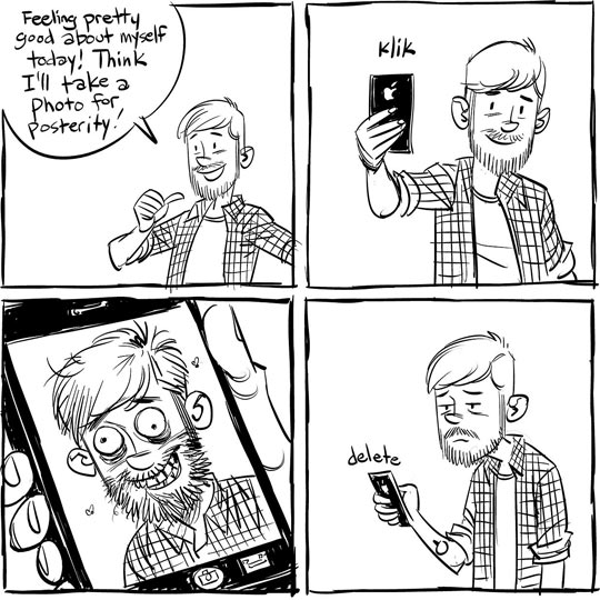 funny-guy-selfie-ugly-comic