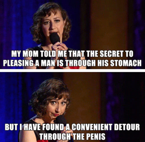 Secret to pleasing a man…