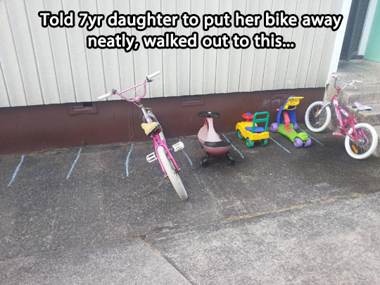funny-kid-bike-parking-spot
