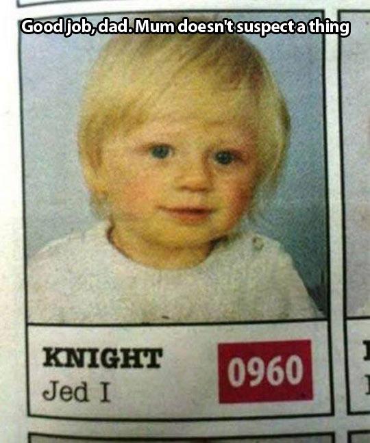 funny-kid-knight-Jedi-dad-Star-Wars