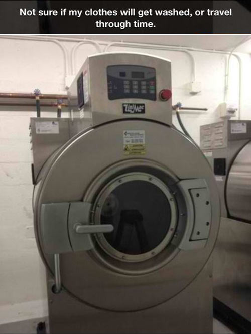 Unusual washing machine…