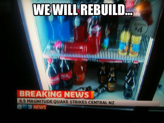 funny-magnitude-quake-drinks-fridge