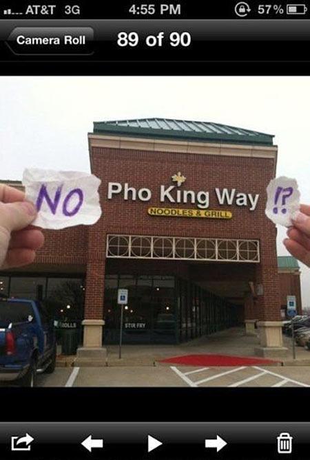 King way?