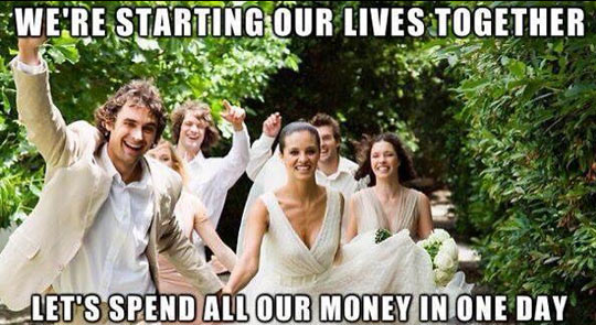 funny-married-starting-lives-spend-money