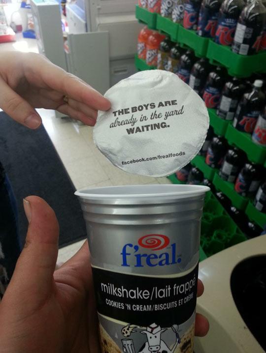 funny-milkshake-boys-yard-waiting-cookies