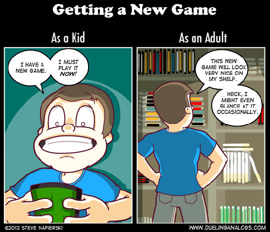 funny-new-game-kid-adult-gamer-shelf