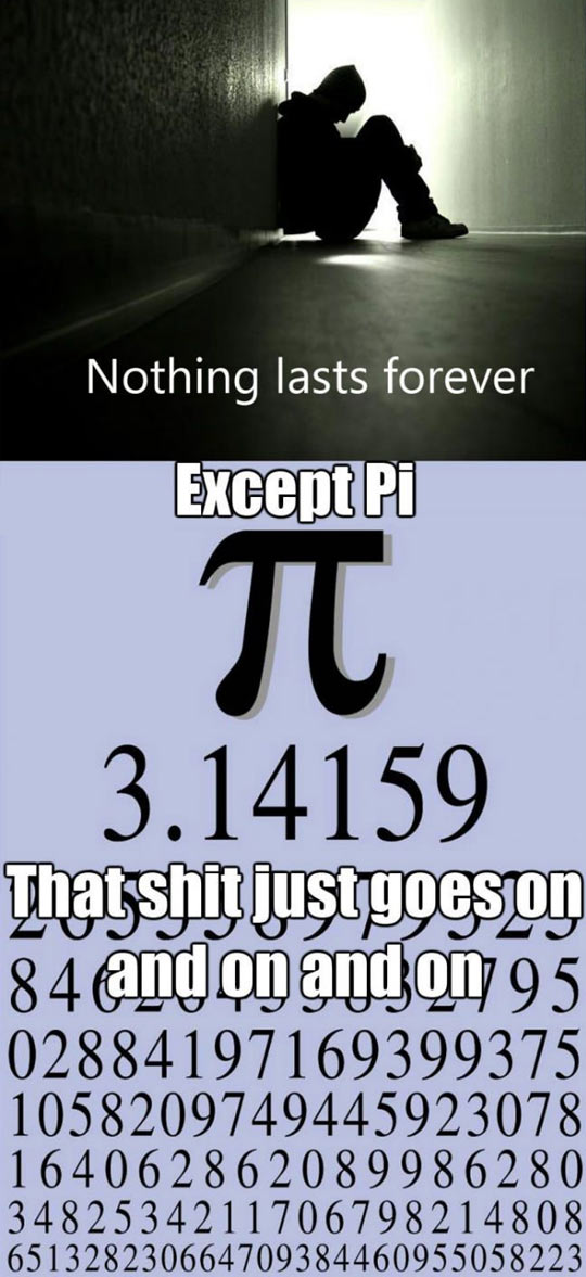 Nothing really lasts forever…